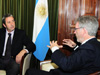 Advocating prevention science to Vice President of Argentina, 2010