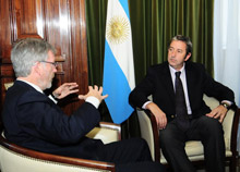 With Vice-President of Argentina